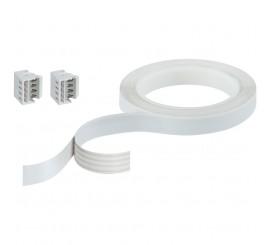 Paulmann YourLED Cablu de conectare plat, 300 cm, alb