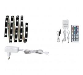 Paulmann YourLED Set baza banda LED RGB, 1x14.4W, 150 cm, controler cu telecomanda, lumina multicolora
