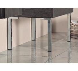 Arthema Picior cromat pentru mobilier, H25 cm