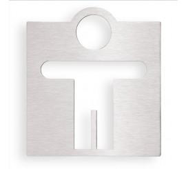 Bemeta Hotel Indicator toaleta pentru barbati, crom mat