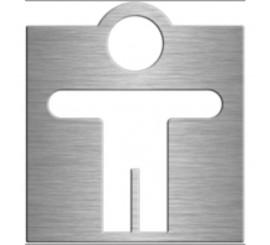 Bemeta Hotel Indicator toaleta pentru barbati, crom