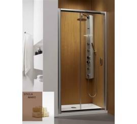 Radaway Premium Plus DWJ Usa dus glisanta 100 cm, sticla maro