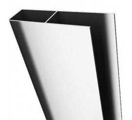 Radaway Twist Profil U de extensie + 4 cm, H190 cm