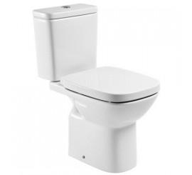 Roca Debba Vas WC monobloc cu montaj pe pardoseala si evacuare laterala, 36x66 cm