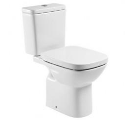 Roca Debba Vas WC monobloc cu montaj pe pardoseala si evacuare verticala, 36x66 cm