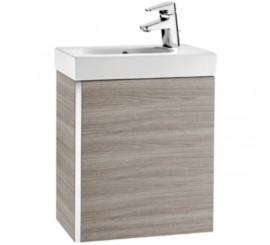 Roca Mini Set mobilier de baie cu lavoar 45x25xH58 cm, gri