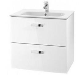 Roca Victoria Basic Set mobilier de baie cu lavoar 70x46xH57 cm, alb