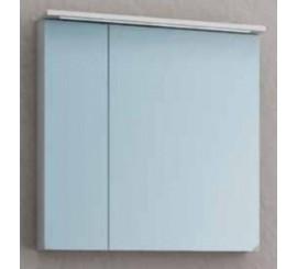 KolpaSan Tara Dulap suspendat cu oglinda si iluminare LED, 70x12xH71 cm, alb mat