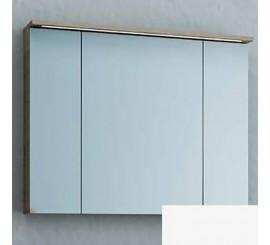 KolpaSan Tara Dulap suspendat cu oglinda si iluminare LED, 90x12xH71 cm, alb mat
