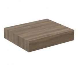 Ideal Standard Adapto Blat pentru lavoar 60x50xH12 cm, maro inchis (dark wood)