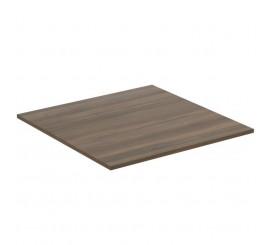 Ideal Standard Adapto Blat pentru lavoar 50x50xH1 cm, maro inchis (dark wood)