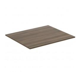 Ideal Standard Adapto Blat pentru lavoar 60x50xH1 cm, maro inchis (dark wood)