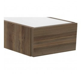 Ideal Standard Adapto Sertar 50x50xH24 cm, maro inchis (dark wood)