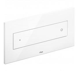 Viega Visign Style 12 Clapeta de actionare WC, alb