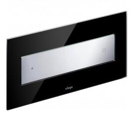 Viega Visign Style 12 Clapeta de actionare WC, negru/crom