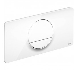 Viega Visign Style 13 Clapeta de actionare WC, alb