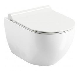 Ravak Uni Chrome RimOff Vas WC suspendat 36x51 cm, alb