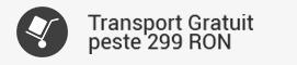 Transport gratuit peste 299 ron